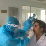 Bệnh viện Đa khoa Quốc tế Hải Phòng – Vĩnh Bảo triển khai xét nghiệm sàng lọc SARS-CoV-2 miễn phí cho toàn thể cán bộ nhân viên
