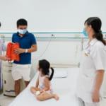 Thăm và tặng quà cho bệnh nhi đang điều trị nội trú tại Bệnh viện đa khoa quốc tế Hải Phòng – Vĩnh Bảo nhân dịp Tết Trung thu